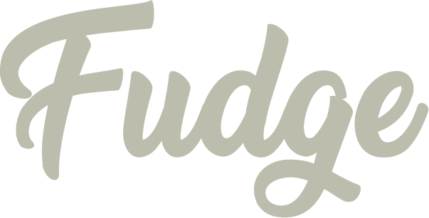 fudge footer logo
